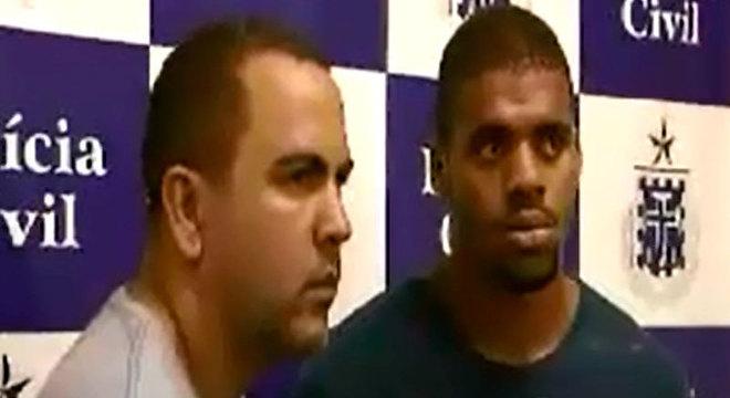 Judeiltom de Souza soares e Anderson da Anunciacão Santos foram presos em flagrante