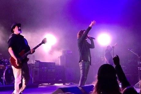 Soundgarden na última apresentação antes da morte de Cornell