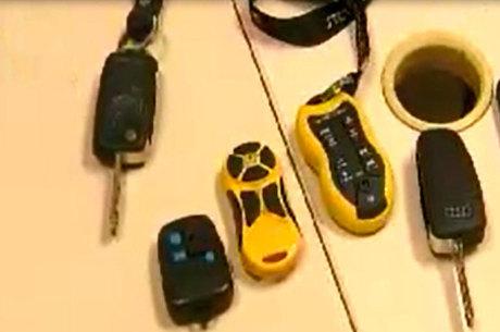 Mecanismo era utilizado para evitar que o alarme dos carros fosse acionado