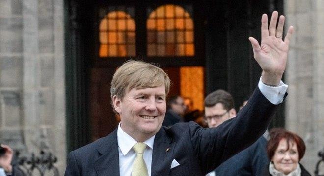 O rei Willem-Alexander subiu ao trono holandês em 2013, quando a rainha Beatrix abdicou