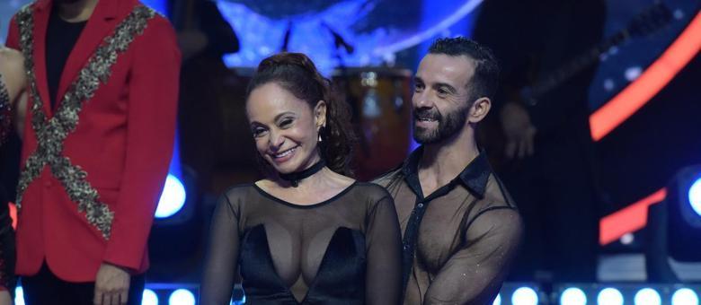 Tânia Alves foi a sexta eliminada do Dancing Brasil