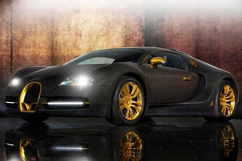 bugatti veyron de ouro com cavalos est venda. Black Bedroom Furniture Sets. Home Design Ideas
