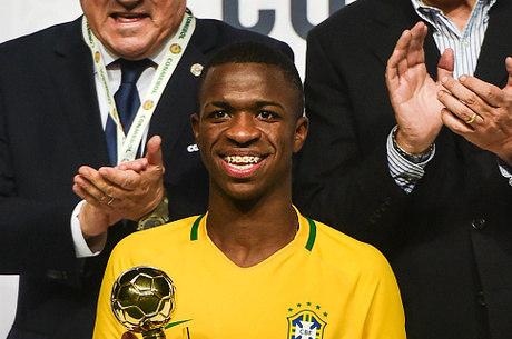 Vinicius Junior é a estrela da seleção sub-17