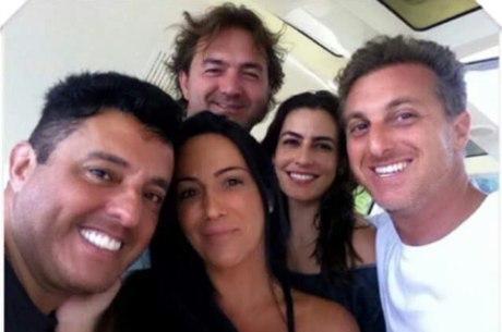Luciano Huck, Bruno e Joesley Batista: festa em iate