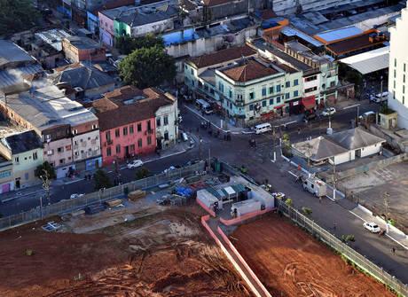 Veja fotos aéreas feitas na região central de SP nesta terça-feira (23)