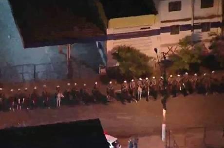 Cavalaria na Cracolândia