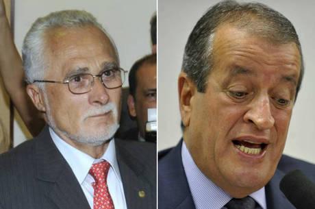 José Genoíno e Valdemar Costa Neto perderam homenagem