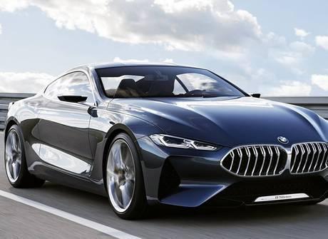 Luxuoso BMW Série 8 Concept é revelado na Alemanha. Confira