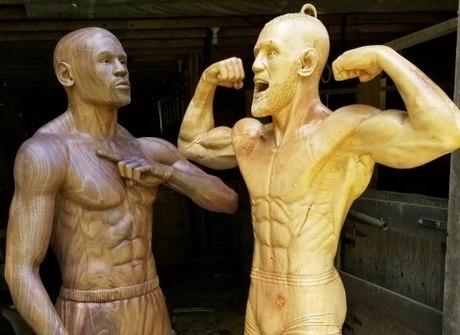 Superluta entre Mayweather e McGregor ganha versão de artista
