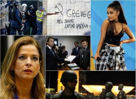 Congresso libera o FGTS e protesto depreda ministérios em Brasília
