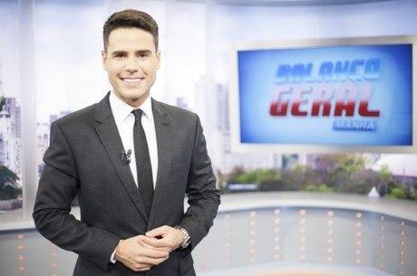 Luiz Bacci, o apresentador do Balanço Geral Manhã