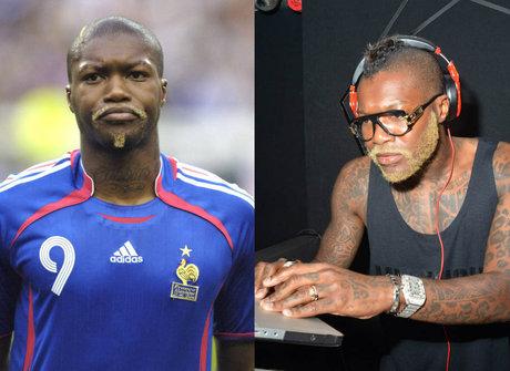 Djibril Cissé repete passos de outros atletas e ataca de DJ
