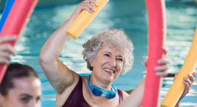 Quantidade de massa muscular nos braços e pernas ajuda a estimar longevidade