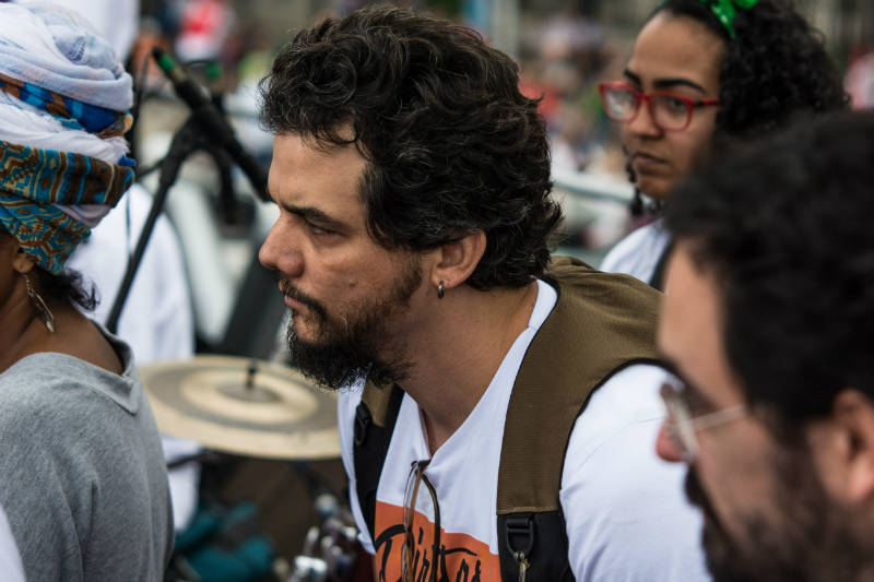 Manifestação em Copacabana pede Diretas Já