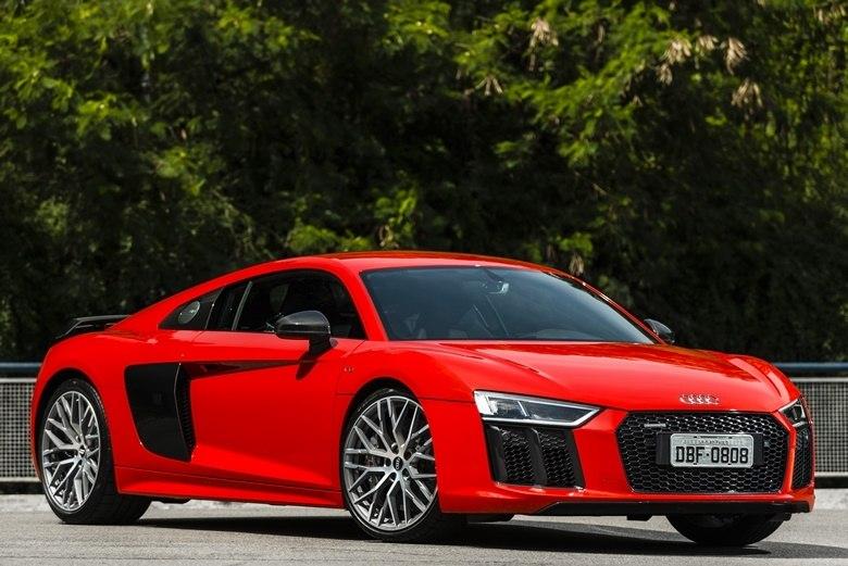 Roble proteccion burlarse de  Veja todos os ângulos do novo Audi R8 V10 Plus - Fotos - R7 Carros