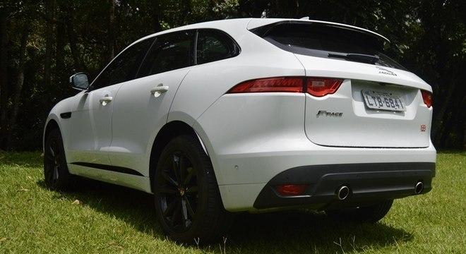 jaguar registra recordes históricos depois do suv f-pace ser eleito