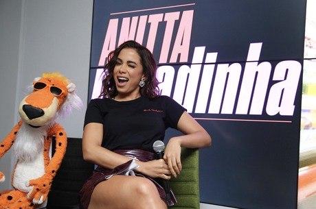 Anitta falou ainda sobre as mensagens que suas músicas passam