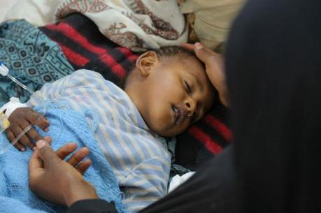 A epidemia se propagou a 91,3% do território iemenita