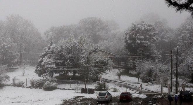Neve no Sul do país em 2013, maior evento até o momento