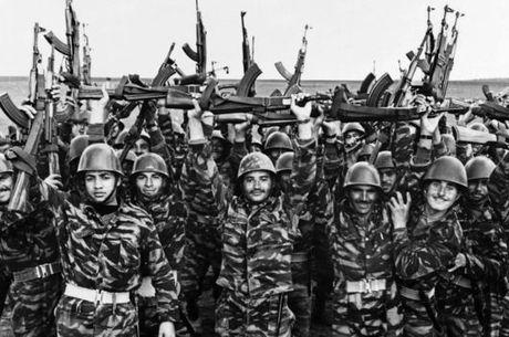 Entre os soldados árabes, havia um grande ânimo nas semanas anteriores à guerra
