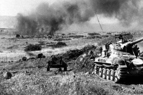 Durante a guerra, Israel tomou da Síria o controle das colinas de Golã
