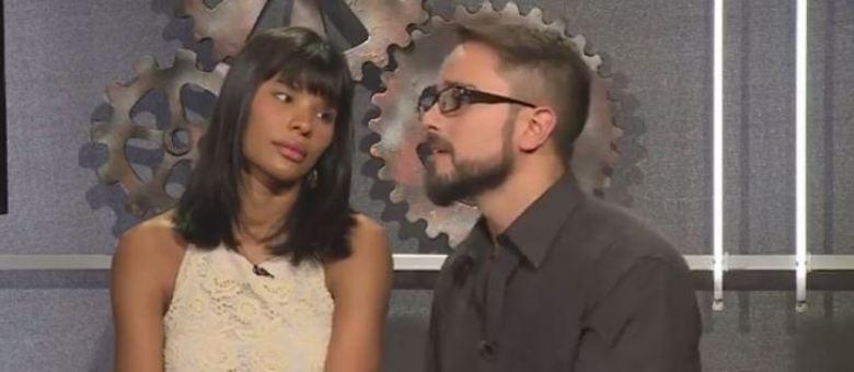 Maurício e Suyane participaram do Power Couple Online desta sexta-feira (16)