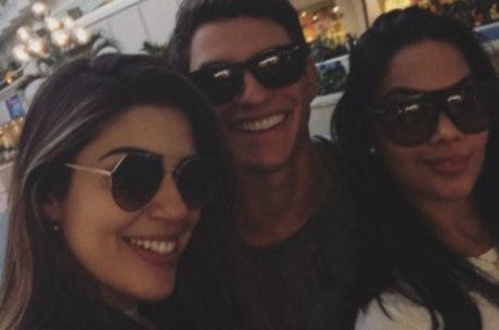 Vivian, Manoel e Mayara estão se divertindo nos Estados Unidos