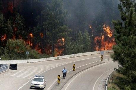 Parte das vítimas da tragédia passava de carro na estrada que liga Figueiró dos Vinhos a Castanheira de Pêra
