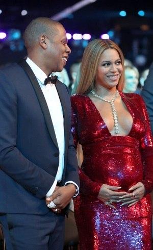 Beyoncé e Jay-Z no Grammy 2017