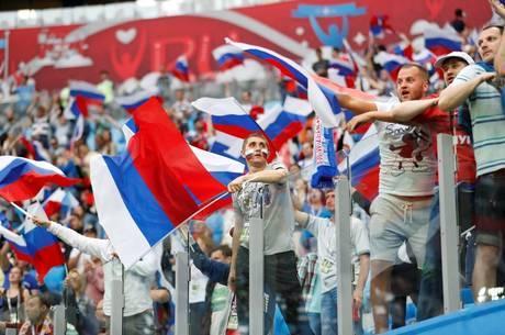 Os russos começam a sentir o gostinho de sediar um Mundial