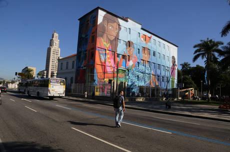 Grafite pode ser considerado o maior pintado por uma mulher