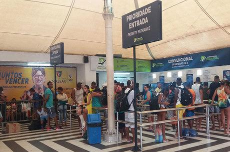 A ação é uma iniciativa do Ferry Cultural, projeto da Internacional Travessias Salvador