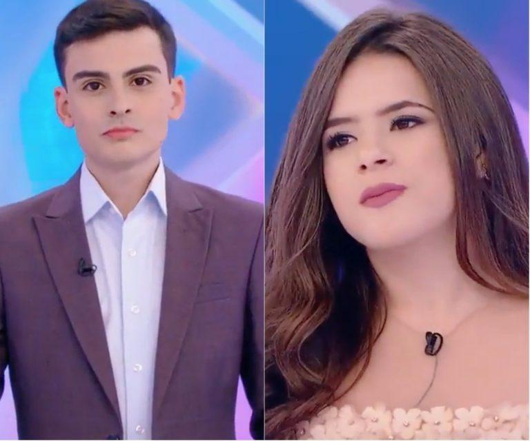Dudu Camargo leva fora de Maisa Silva ao vivo: 'Fala esquisito'