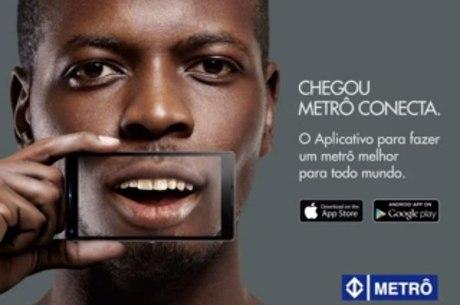 Aplicativo do Metrô está disponível para celulares Android e iOS