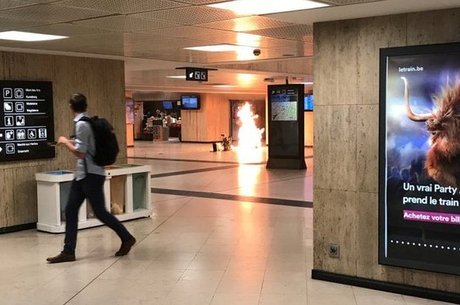 Homem tentou detonar mala na Estação Central de Bruxelas