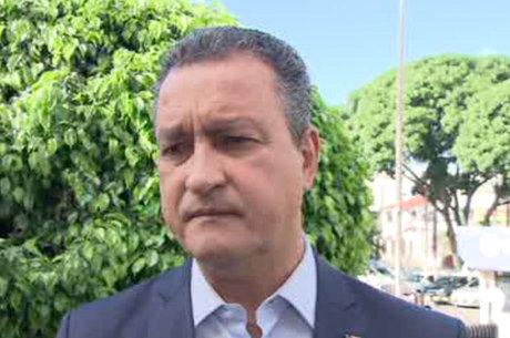 O governador da Bahia, Rui Costa (PT)