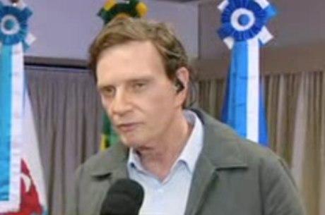 Prefeito do Rio falou que volume de chuva foi inesperado