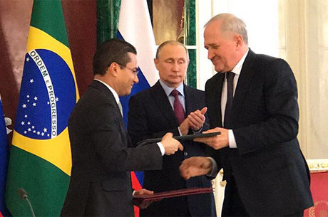 O documento também foi assinado pelo representante do Serviço Federal Alfandegário da Federação Russa