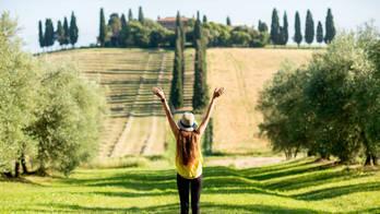 Redescubra as cores da Toscana, na Itália, na estação do sol (Thinkstock)