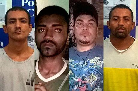 Os suspeitos foram atuados em flagrante e ficarão custodiados à disposição da Justiça