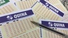 Oito apostas vão dividir maior prêmio da história da Quina