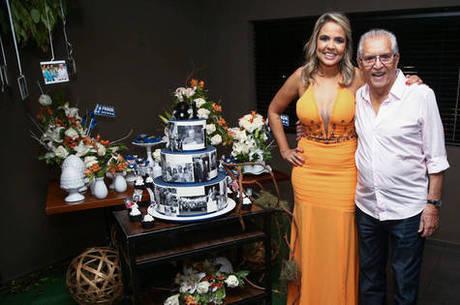 Carlos Alberto de Nóbrega e Renata Domingues