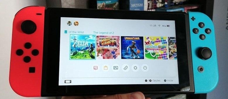Nintendo Switch segue em alta entre os jogadores