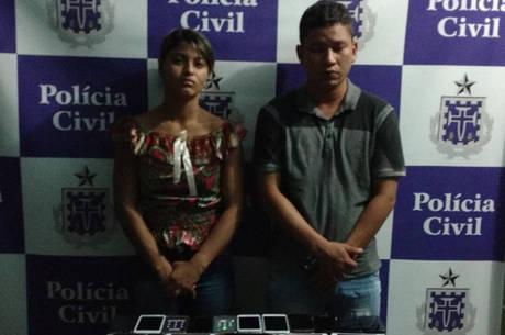 Thayane e Halen foram descobertos depois que uma das vítimas de furto procurou à unidade policial para denunciar o crime