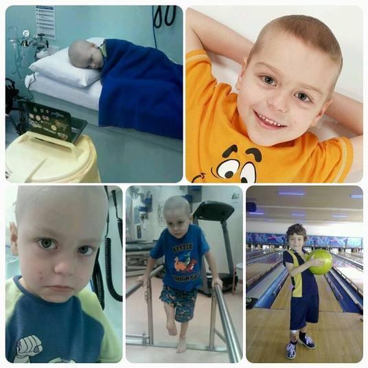 O pequeno Jonty Oddy, da cidade de Brisbane, na Austrália, era uma criança ativa de quatro anos quando começou a mancar sem motivo aparente, no ano de 2011. Os médicos investigaram e descobriram que o menino sofria com um osteossarcoma — tumor incomum que ia do joelho até a virilha