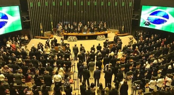 Sessão solene no Congresso Nacional homenageou os 40 anos da Igreja Universal