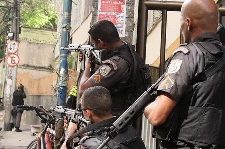 Operação policial interditou vias importantes de Copacabana