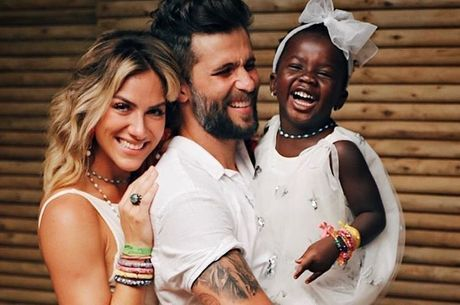 Bruno Gagliasso, Giovanna Ewbank e Titi