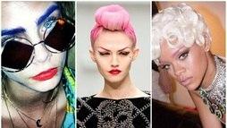 Desfiles apontam tendência de sobrancelhas coloridas ()