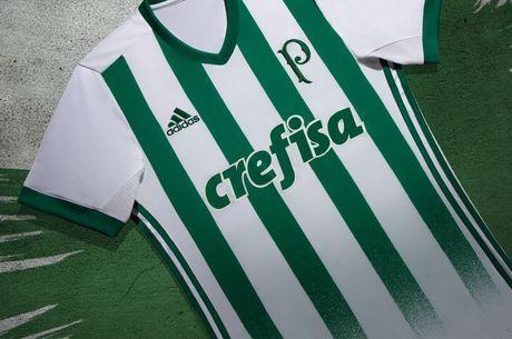 dbe065b0af Palmeiras divulga nova camisa para temporada 2017 2018